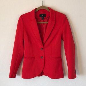 H&M Woman's Red Blazer